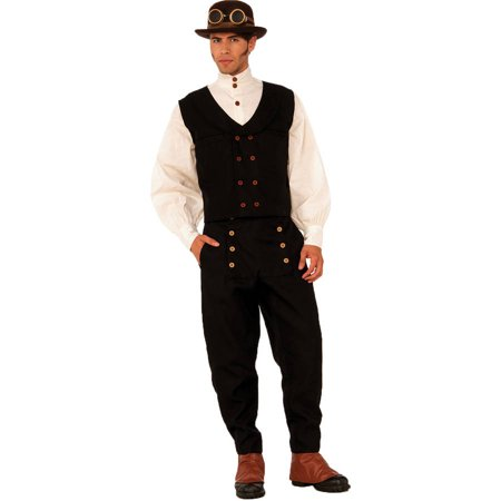 Steampunk Vest Men's Adult Halloween Costume