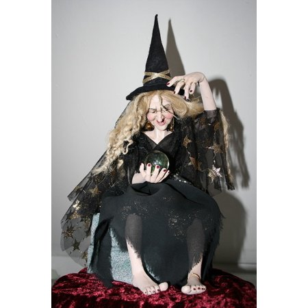 LAMINATED POSTER Witch Hat Glass Ball True Legend Ball The Witch Poster Print 24 x - Witches Balls Wholesale