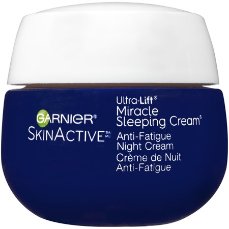 Garnier SkinActive Miracle Anti-Fatigue Night Sleeping Cream 1.7 oz. (Garnier Pure Active Anti Imperfection Daily Moisturiser)