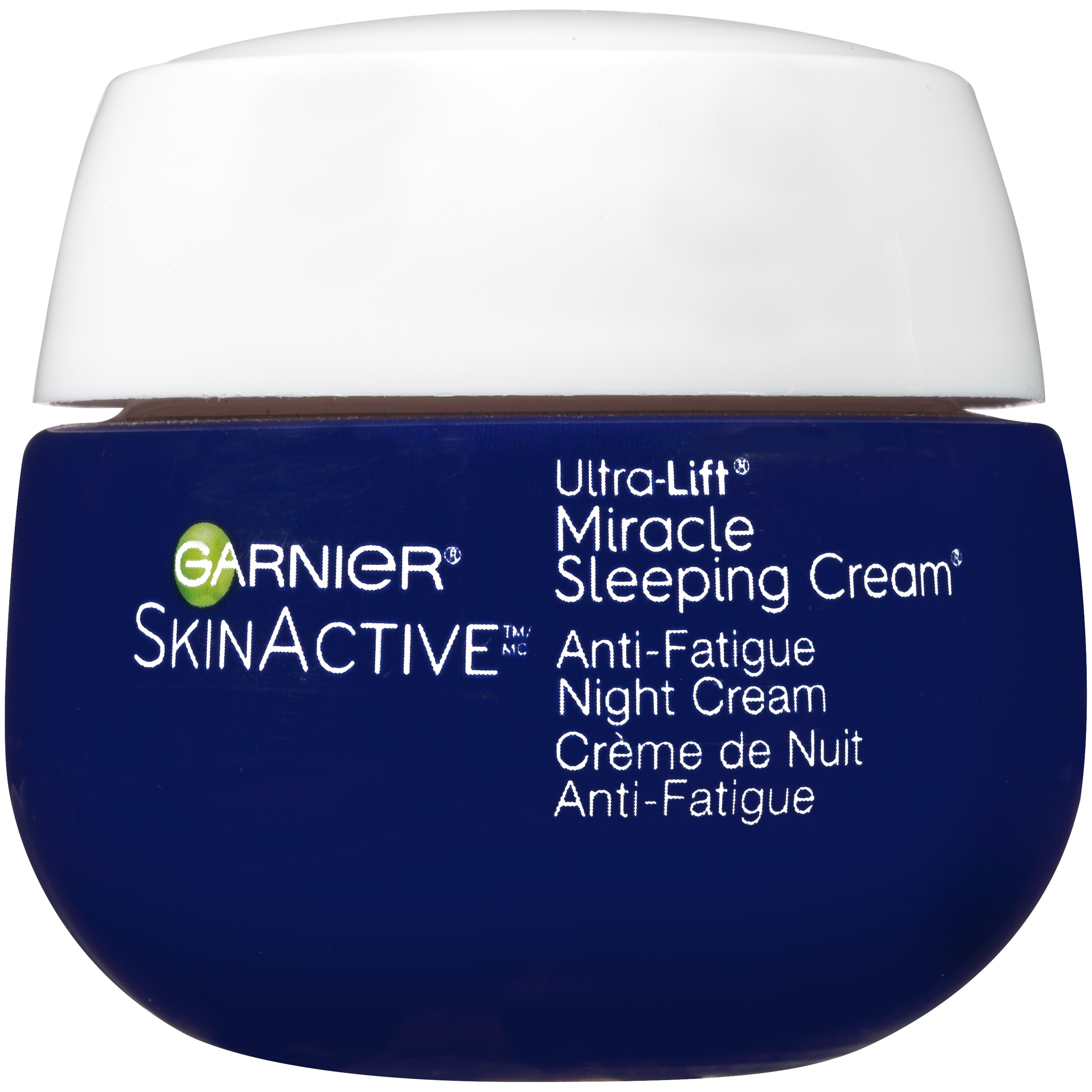 Garnier SkinActive Miracle Anti-Fatigue Night Sleeping Cream 1.7 oz. Box