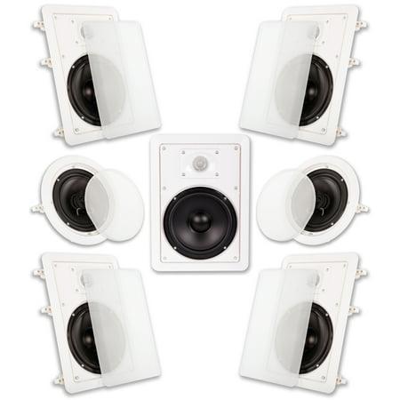 Acoustic Audio HT-67 In Wall In Ceiling 1750 Watt 6.5