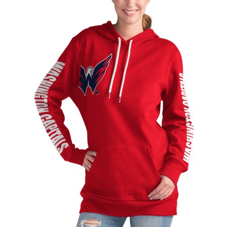 Washington Capitals G-III 4Her by Carl Banks Women s 12th Inning Pullover  Hoodie - Red - Walmart.com b109adee2