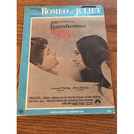 LOVE THEME FROM ROMEO AND JULIET Nino Rota ALL ORGAN SOLO Sheet Music