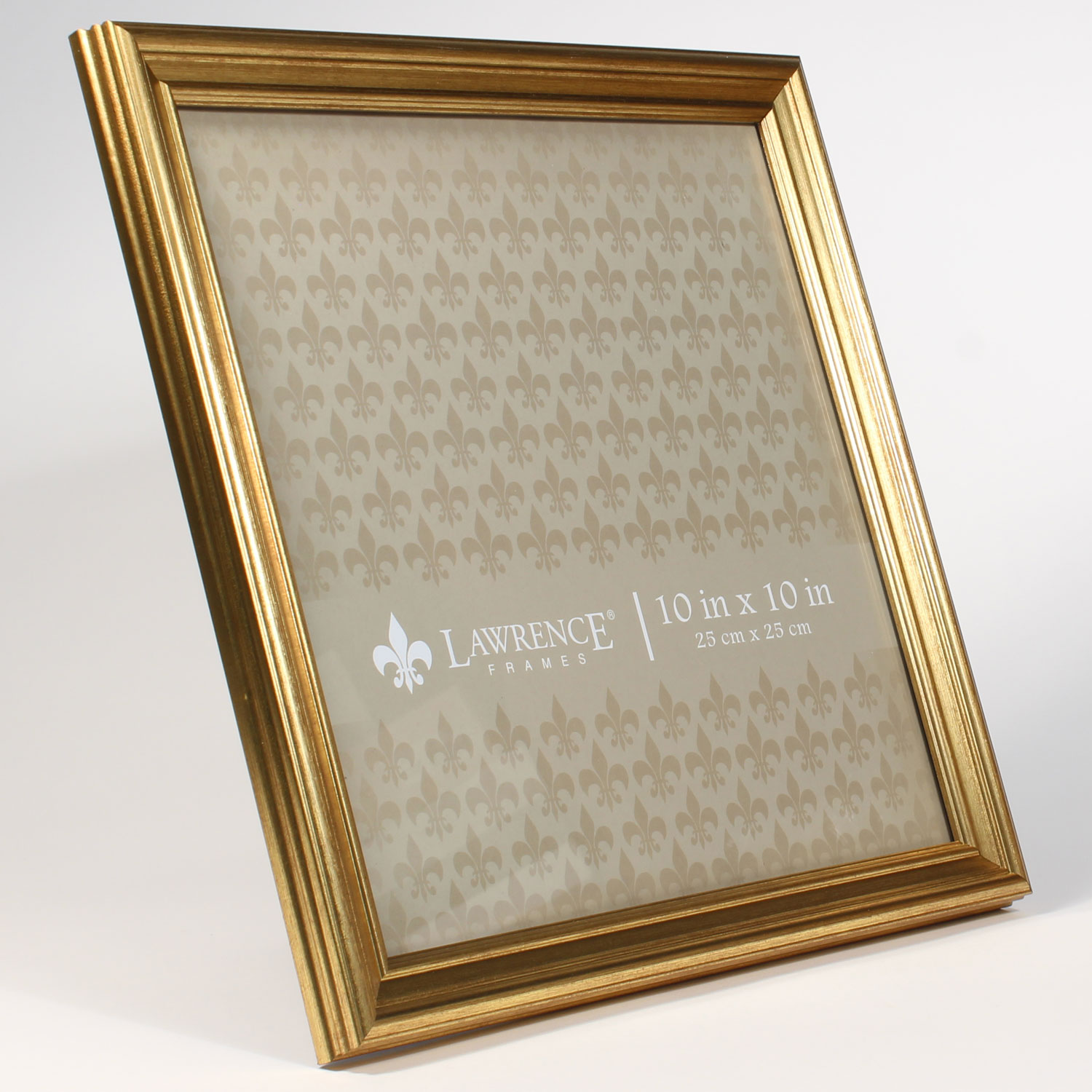 10x10 sutter burnished gold picture frame walmart com