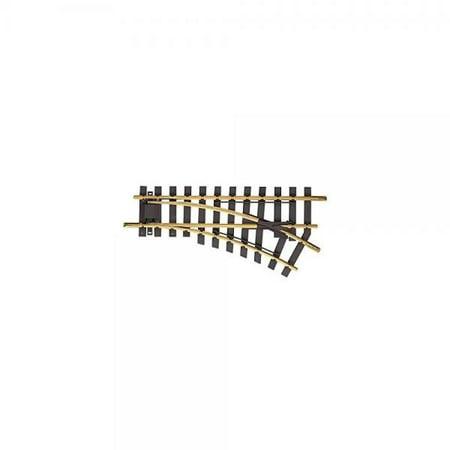 MANUAL SWITCH RIGHT R1 30 DEGREE - PIKO G SCALE MODEL TRAIN TRACK 35221