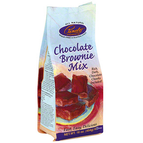 Pamela's Products Chocolate Brownie Mix, 16 oz (Pack of 6)