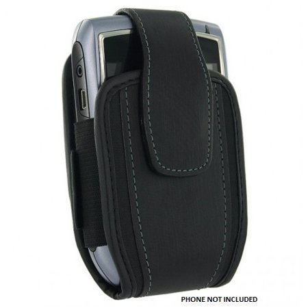 Blackberry Storm 2 Faceplate - Genuine BlackBerry Holster with Belt Clip for 9550 Storm 2 9650 Bold 8530 Curve