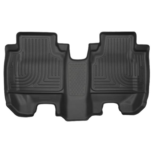 Weatherbeater Series Universal Fit Second Seat Floor Liner - Black
