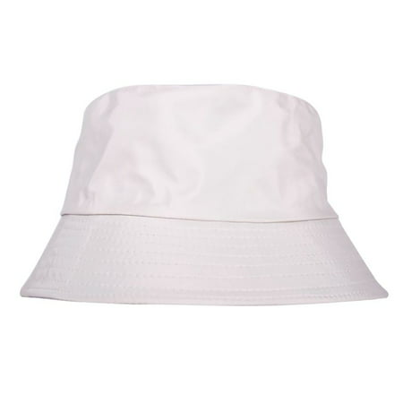 Summer Fishing Boonie Beach Sun Cap Unisex Soft Cotton Bucket Double Sided Hat