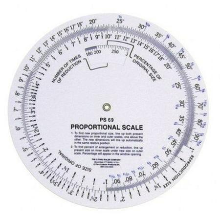 C-Thru Proportional Scale 8 in. diameter