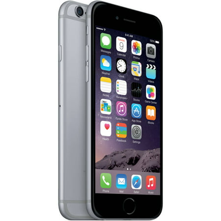 Straight Talk Prepaid Apple iPhone 6 32GB, Space Gray