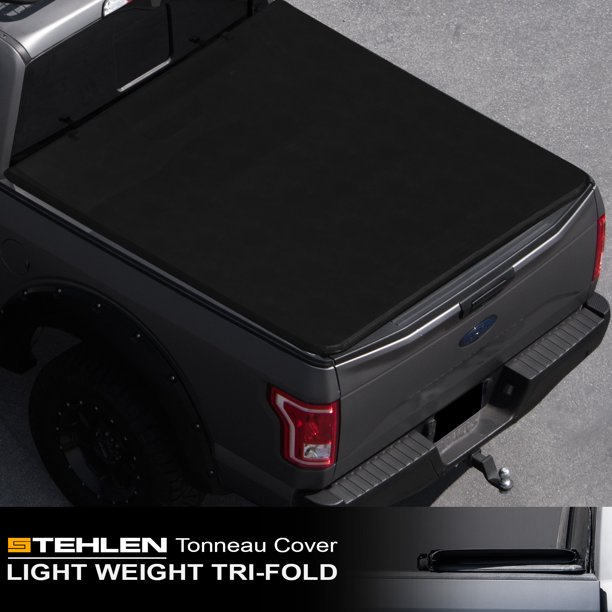 Stehlen 714937189560 Lightweight Hard Tri Fold Tonneau Cover Black For 1999 2016 Ford F250 F350 F450 Superduty 6 5 Feet 78 Bed Walmart Com Walmart Com