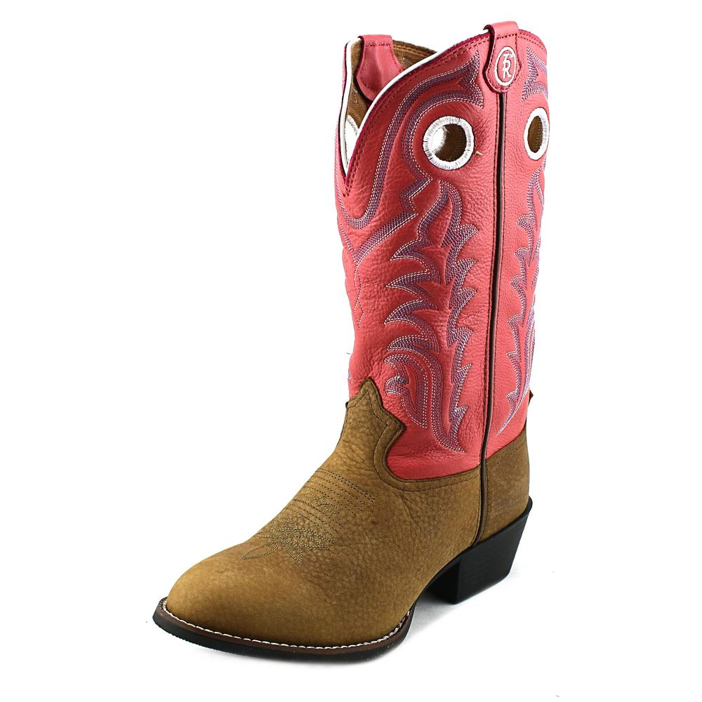 Tony Lama Kids LL402 Youth  Round Toe Leather  Western Boot