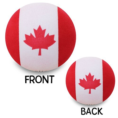 Happy Balls Canadian Flag Antenna Topper