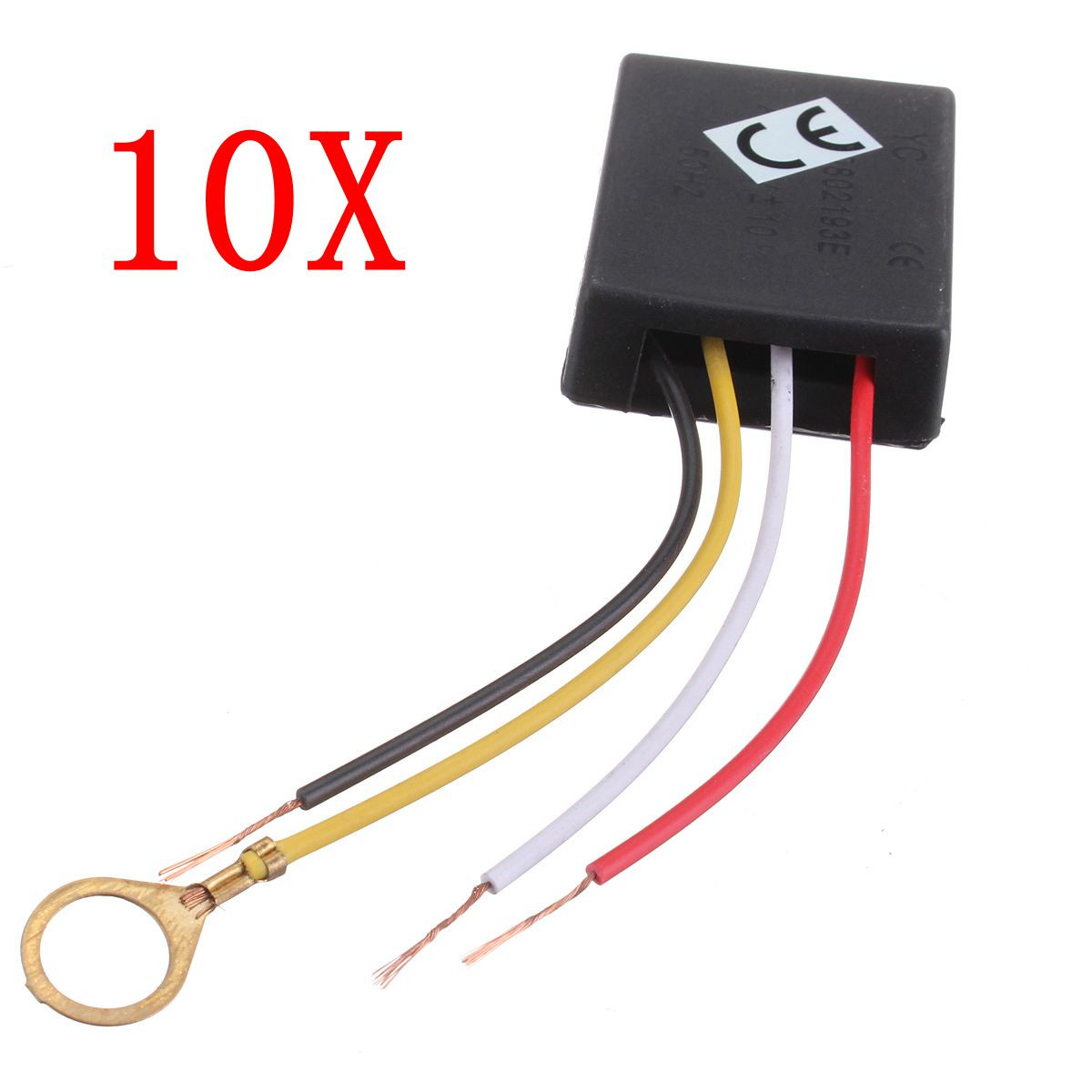 10Pcs 3 Way 110/220V Table Desk Light Lamp Touch Switch Control Sensor Dimmer Repair for Bulbs
