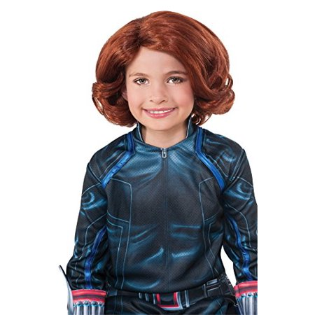Rubie's Costume Avengers 2 Age of Ultron Child's Black Widow Wig Costume (Avengers Black Widow Wig)