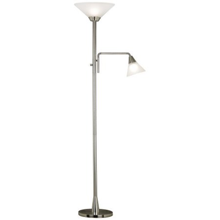Kenroy Home 21002BS Rush Torchiere Lamp by