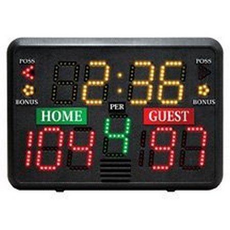 Portable Tabletop Scoreboard Basketball Volleyball Wrestling Lacrosse - Tabletop Basketball