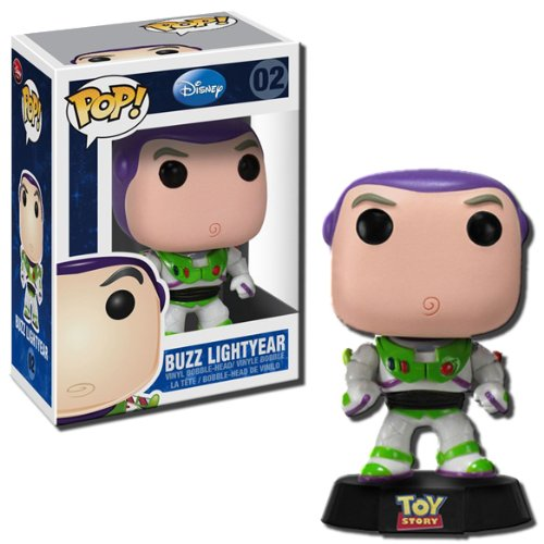 "Toy Story Disney Pop 9"" Vinyl Figure Buzz Lightyear by Funko"