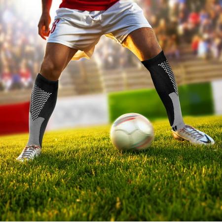 Odoland Compression Sports Socks, Authentic Socks for Recovery & Performance, Men & Women Compression Socking for Running, Athletes, Nurses, Shin Splints, Flight Travel & Maternity Pregnancy