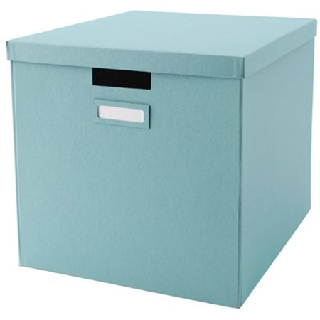 Ikea Storage Box with lid, light blue 14214.81123.186 ()