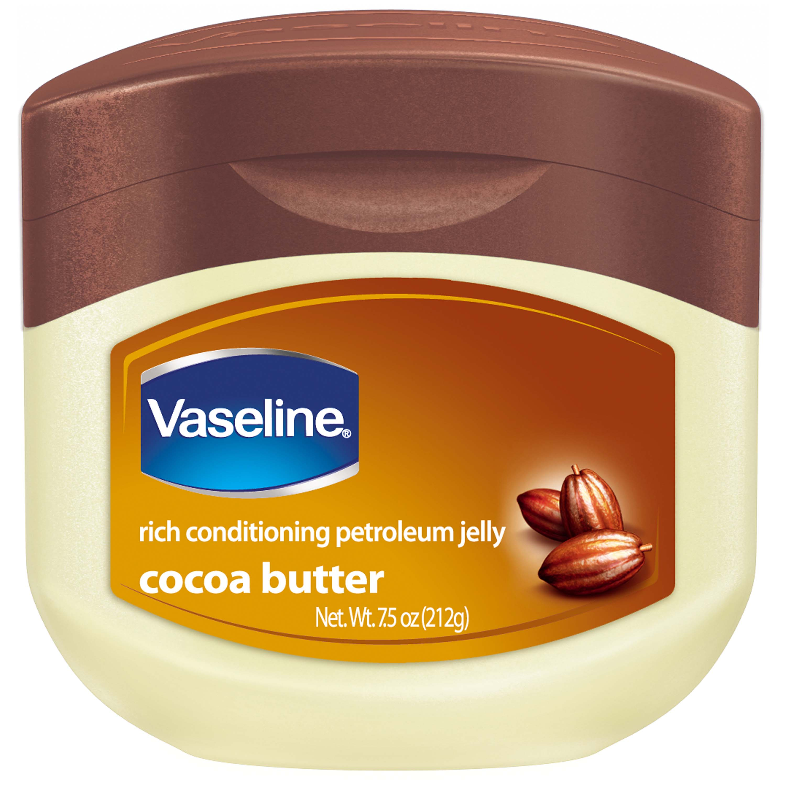 Vaseline Cocoa Butter Petroleum Jelly, 7.5 oz