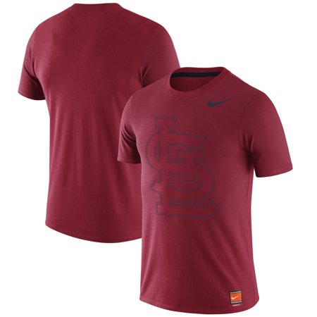 St. Louis Cardinals Nike Premium Performance Tri-Blend T-Shirt - Red