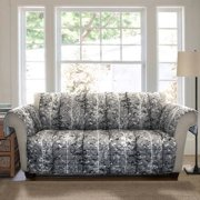 Forest Furniture Protector, Grey/black Sofa Couch Cover