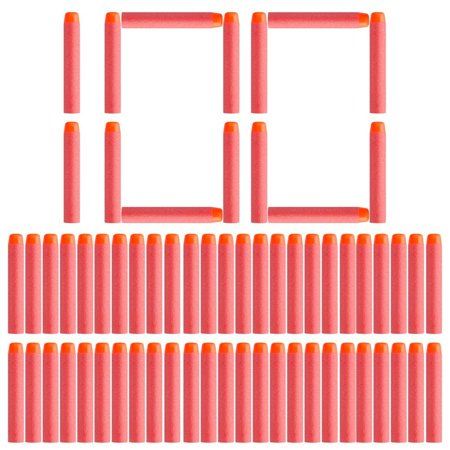 100 pcs Bullet Darts For NERF Kids Toy Gun N-Strike Round Head Blasters - Kids Toy Guns