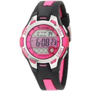 Armitron 45-7030PNK Women Pink & Black Chronograph Digital Sport Watch