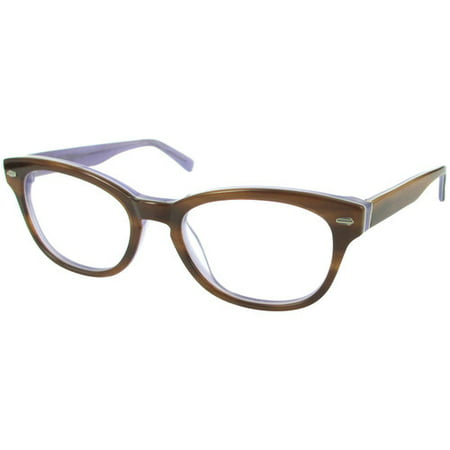 trend by dna womens rx able eyeglass frames tortoise lavender