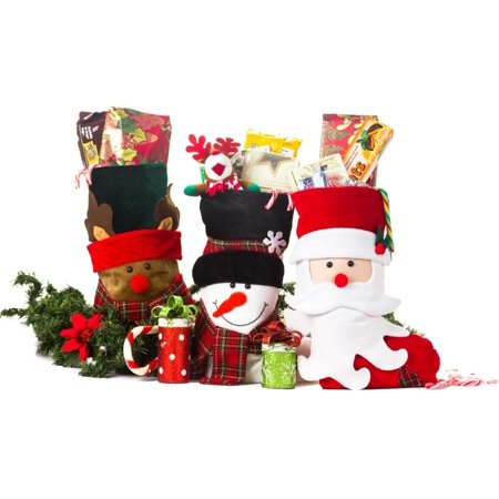 Christmas Stockings or Xmas Stockings with Santa and Friends 3 Pack](Santa Pack)