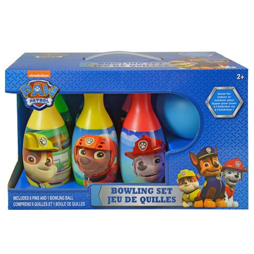 Nickelodeon Paw Patrol 6 Pin Bowling Set in Display Box by