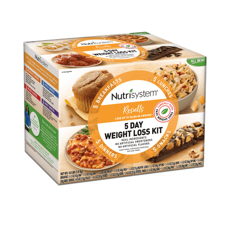 Walmart: Nutrisystem Results 5 Day Weight Loss Kit, 4 Lbs, 20 Meals Only $39.98