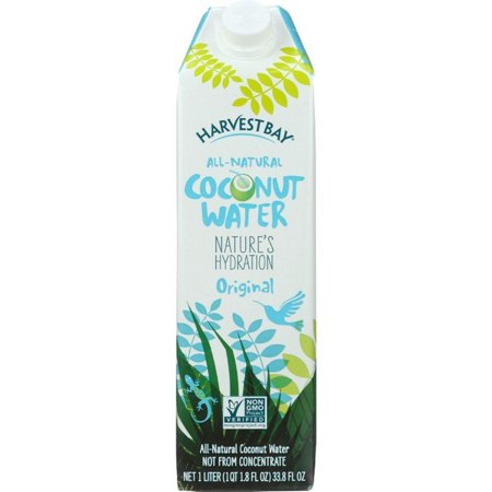 Harvest Bay Coconut Water - All Natural - 33.8 Oz - Pack of