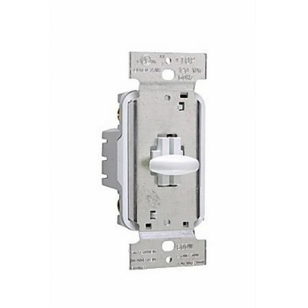 Pass & Seymour SS1000-I Ivory Short Slide Dimmer Light Switch 1000W Single Pole