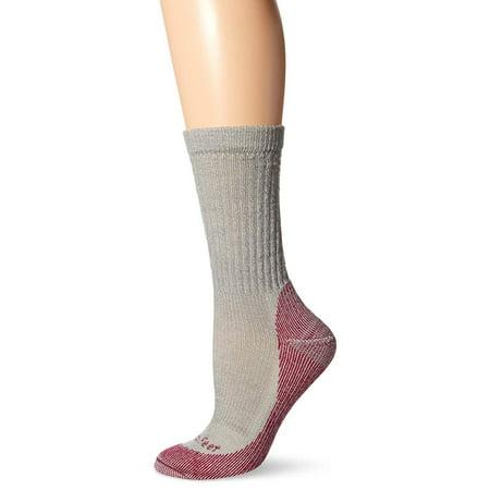 - Women's Boulder Lightweight Hiking Socks, Platinum, Small, 72% Merino Wool 27% Nylon 1% Spandex By Farm to Feet