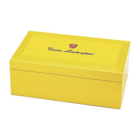 Lamborghini Limited Edition Yellow Monte Carlo Cigar Humidor Lamborghini Limited Edition