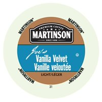 Martinson Coffee Vanilla Velvet, RealCup portion pack for Keurig K-Cup Brewers, 24 Count