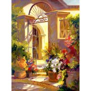 Printfinders Fragrant Entrance by Betty Carr Print Painting on Wrapped Canvas
