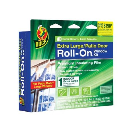 Draft Busters 281069 Roll On Interior Window Insulator Kit 84 X 112 In
