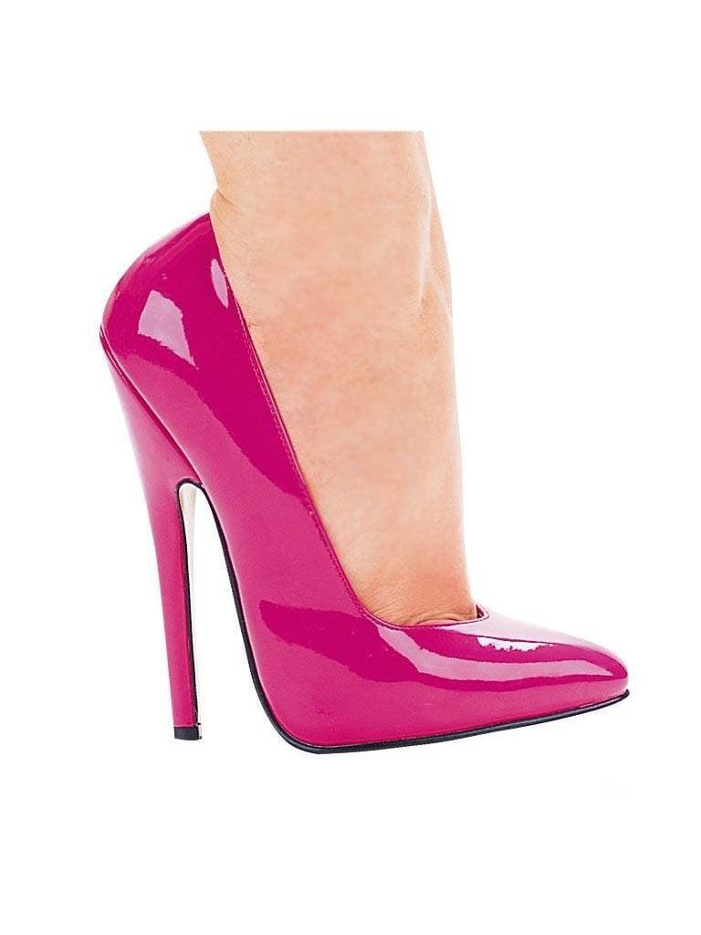 Ellie Shoes E-8260 6 Heel Fetish Pump 12 / Purple