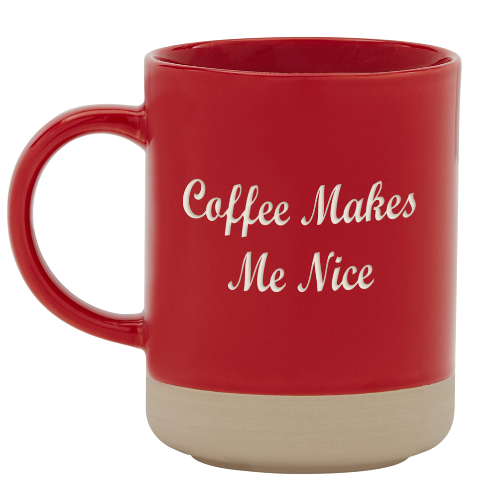 Personalized RedEnvelope Personally Yours Stoneware Coffee Mug Any Message