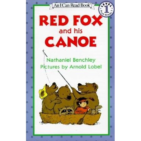 Red Fox and His Canoe -