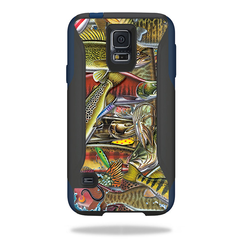 MightySkins Skin For OtterBox Commuter Samsung Galaxy S5 Case | Protective, Durable, and Unique Vinyl Decal wrap cover | Easy To Apply, Remove, and Change Styles | Made in the USA
