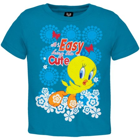 Tweety Bird - Easy Being Cute Infant T-Shirt - Kids Tweety Bird