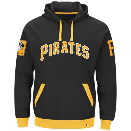 "Pittsburgh Pirates Majestic MLB ""Forever"" Cooperstown Hooded Sweatshirt by"