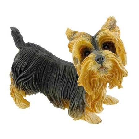 Counrty Artist Yorkie Yorkshire Terrier Figurine Retired and No Longer Produced Cold Cast Porcelain 5