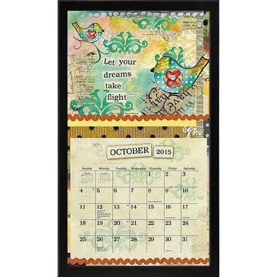 Lang Perfect Timing - Lang Contemporary Black Calendar Fr...