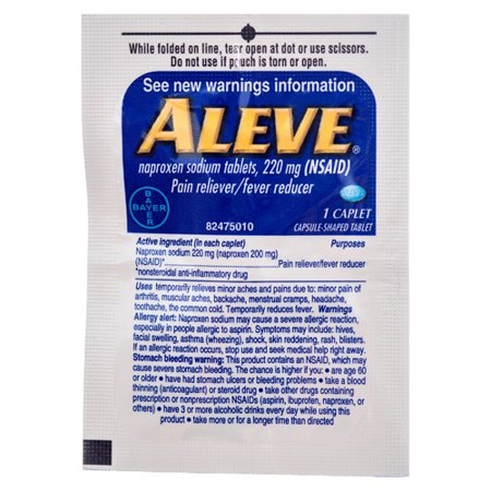 New 327466  Aleve 48Ct (48-Pack) Cough Meds Cheap Wholesale Discount Bulk Pharmacy Cough Meds Bud
